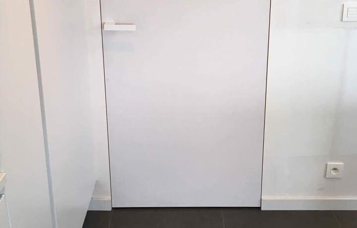 afgewerkte binnendeur